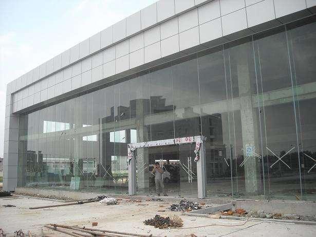 青岛玻璃幕墙